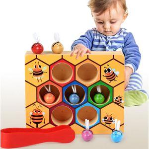 BRICOLAGE - ÉTABLI Clip de dossier pour enfants en bois Montessori éd