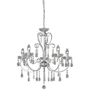 LUSTRE ET SUSPENSION Wofi 5225.05.01.0000 Arizona Lustre Pampilles 5 L