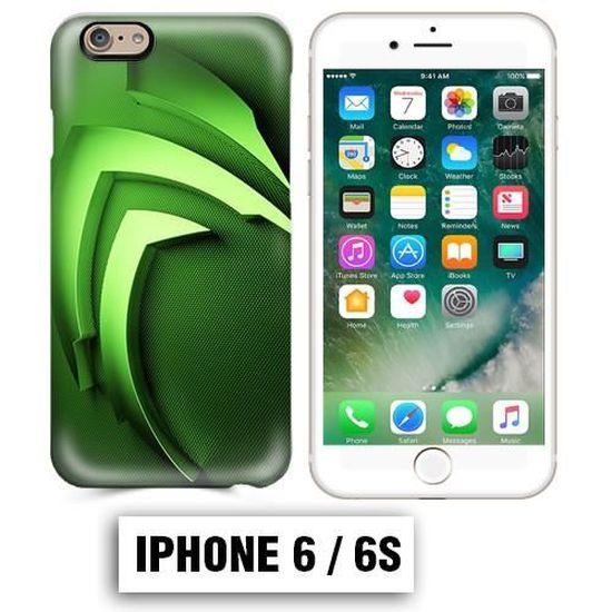 Coque iphone 6 PLUS Energy Monster vert