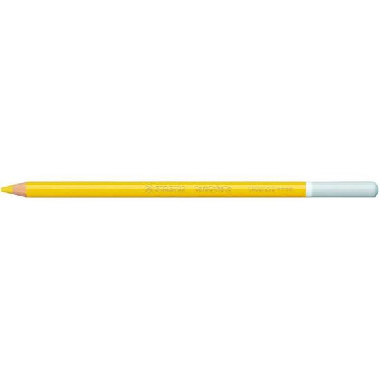 STABILO Lot de 3 Crayons de couleur Fusain Pastel CarbOthello Jaune de Naples Rosat