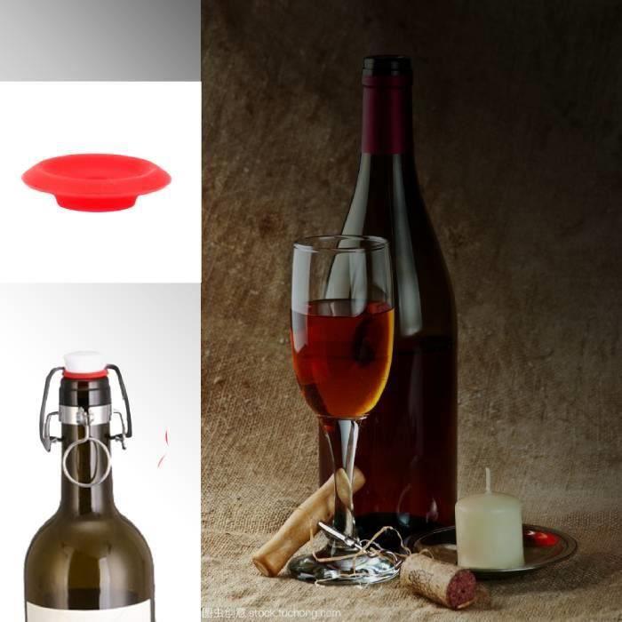 Joints Grolsch en Silicone rouge 25 pièces pour balançoire flip Top bouteille maison Brew bière bouteille joints HY9062 HB047