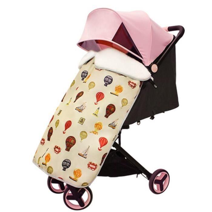 Housse universelle de poussettes pour bébé, Couverture du vent,chaud étanche couvre-pied pour poussette