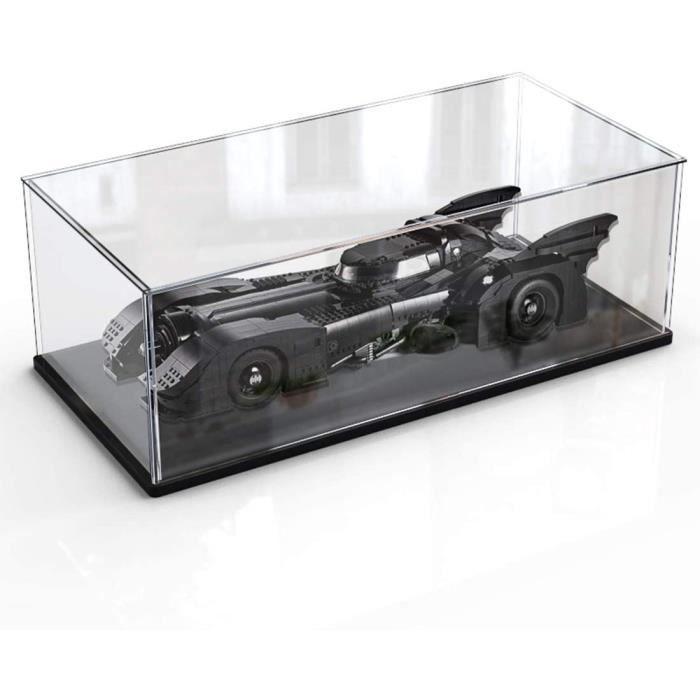 Acrylique Display Case Compatible avec Lego Batmobile 1939Anti Poussière Présentoir Vitrine pour Lego 76139 (Non Inclus Le Modèle)