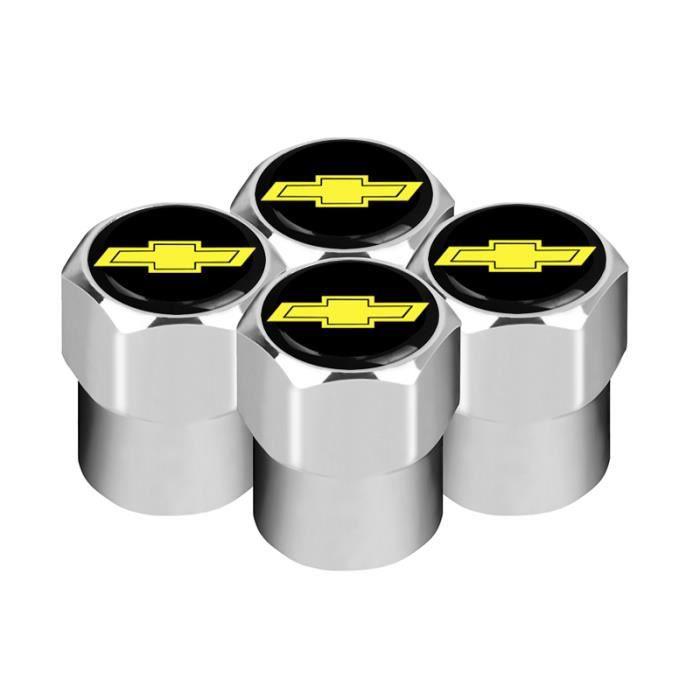 BU2381 Voiture style 4 pièces en métal SPORT emblème voiture pneu Valve bouchons étui pour Chevrolet Cruze Aveo Captiva Lacetti Au
