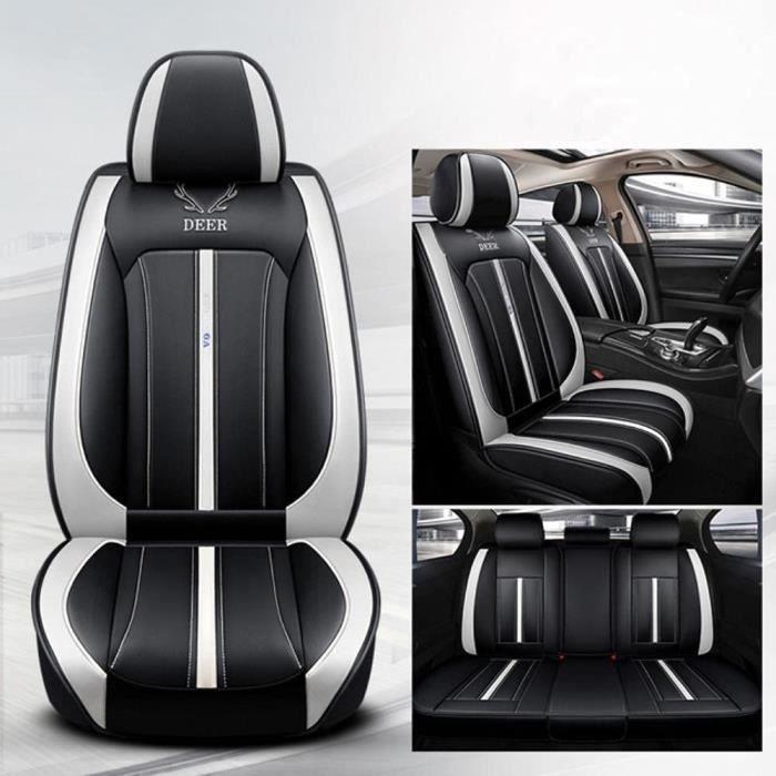 Housse De Siege Voiture Universelle pour Mini Cooper R56 R53 R50 R60 Paceman Clubman Coupe Countryman Jcw Accessoires Voiture-Couleu