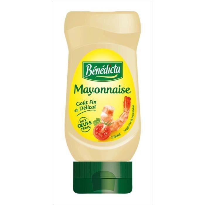 BENEDICTA Mayonnaise nature - 235 g
