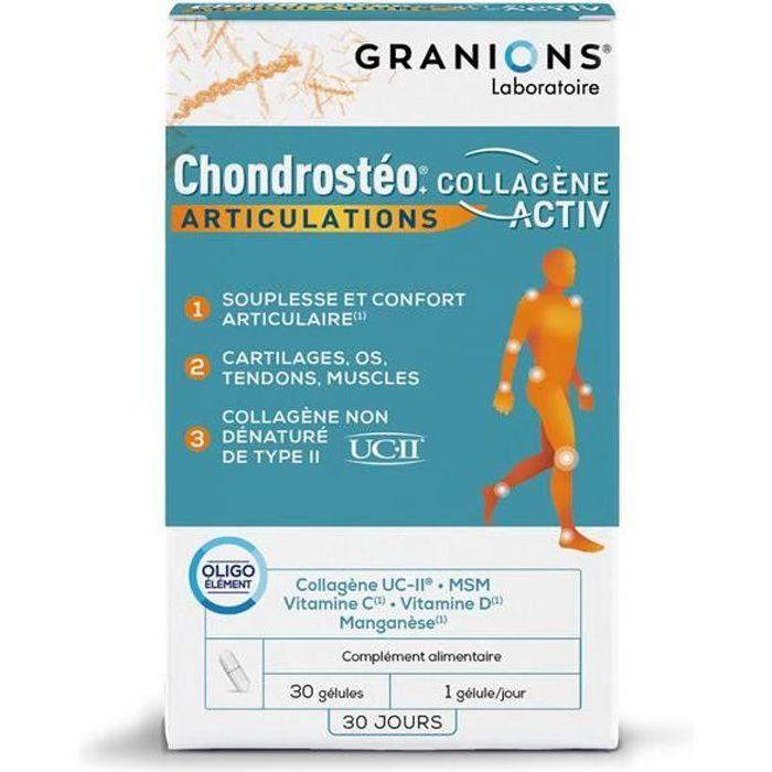 CHONDROSTEO®+ COLLAGENE ACTIV 30 GELULES