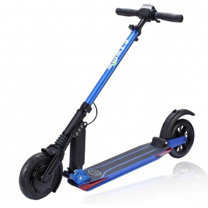 ETWOW Trottinette électrique - Booster V Confort - 10.5Ah - Bleu