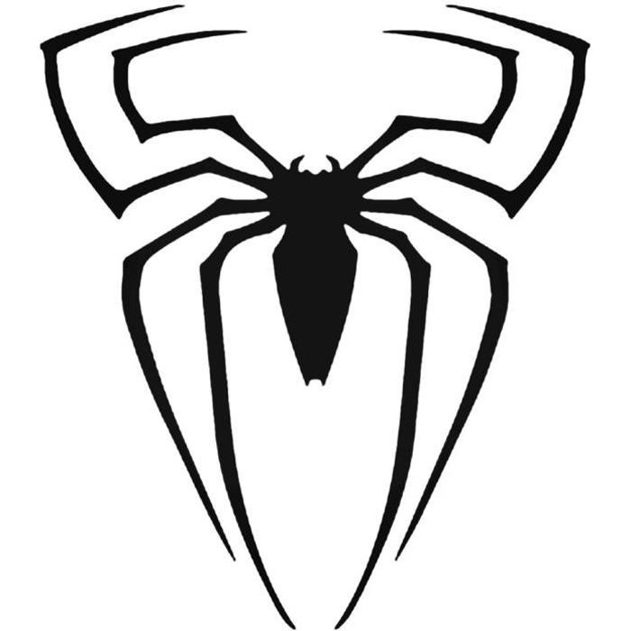 Poster Affiche Spiderman Logo Araignee Comics Anime Super Hero 42cm x 42cm