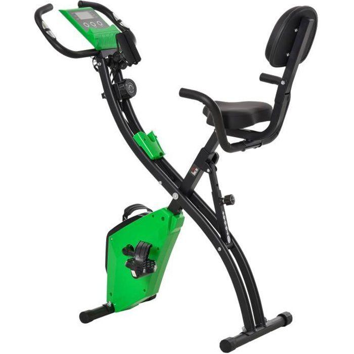 Vélo d'appartement cardio Fit 97x51x115cm Vert