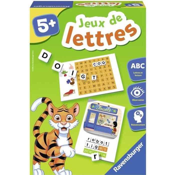 Jeux de lettres - Jeu éducatif - Initation à la lecture - Ravensburger - Dès 5 ans