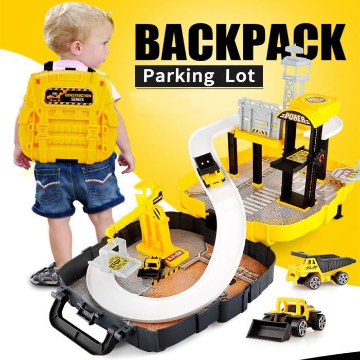 Jeu Véhicule Parking Jouets De Stationnement Garage Pour Enfants STYLE B
