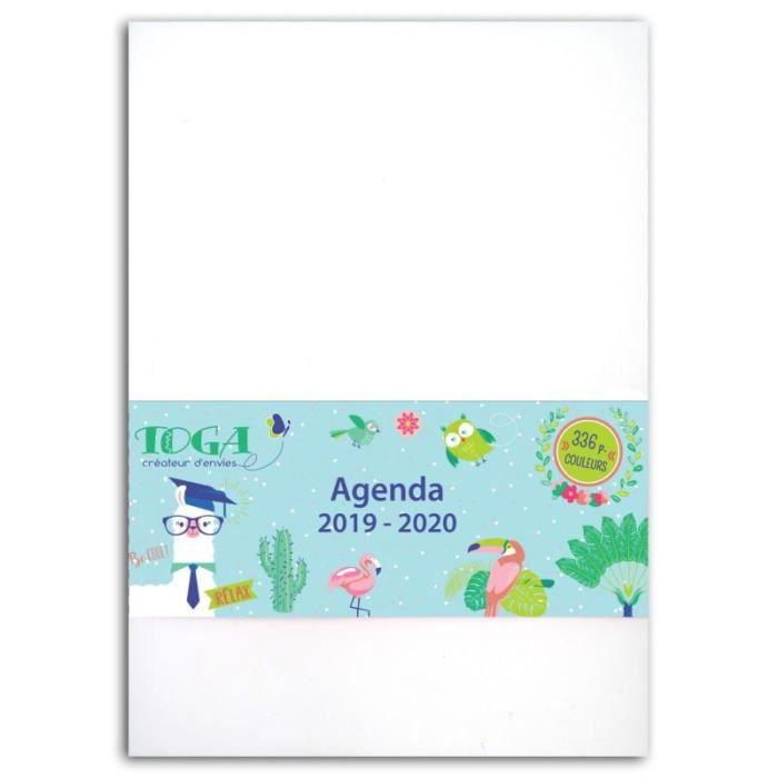 Agenda 2019/2020 'Toga' 12x17 cm