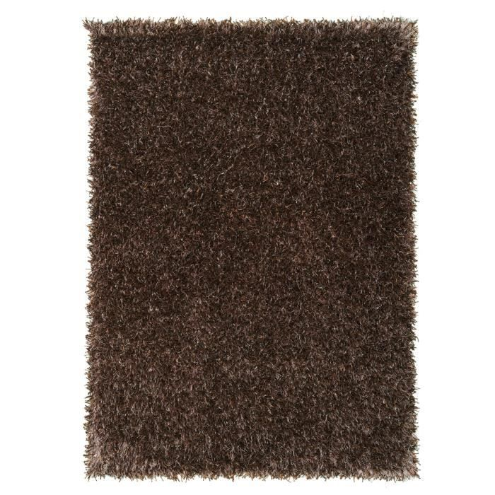 Tapis Salon Feeling Marron Clair Achat Vente Tapis