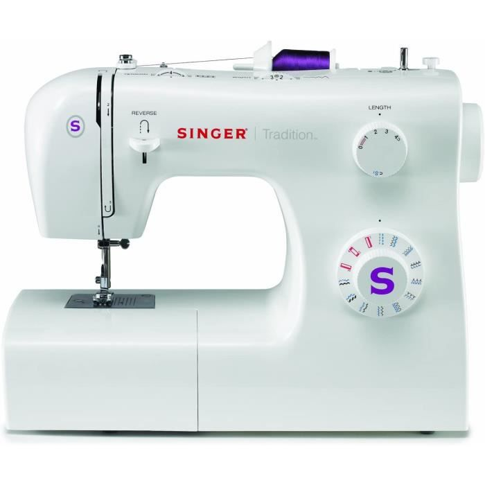 Singer 42263 Machine /à Coudre Tradition Blanc