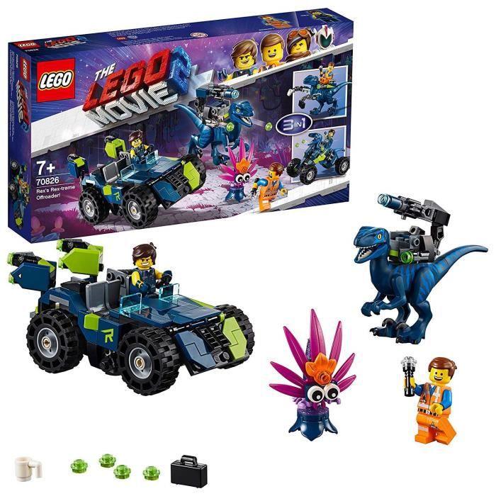 Photo de lego-movie-2-le-tout-terrain-rex-treme-de-lespace-rex-70826-jeu-de