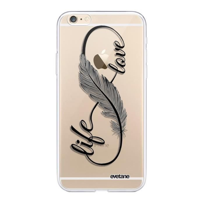 Coque iphone 6s love life - Cdiscount