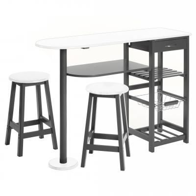 table d 39 appoint cuisine 2 tabourets achat vente. Black Bedroom Furniture Sets. Home Design Ideas