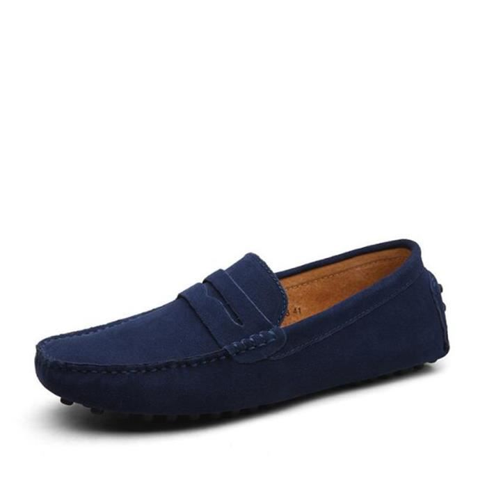 Moccasin homme nouvelle marque de luxe chaussure ete Respirant Loafer Grande Taille chaussures Nouvelle Mode hommes Chaussures