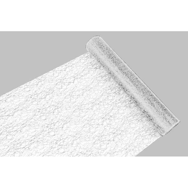 HOBI Chemin de Table Dentelle 29 cm/5 m Blanc