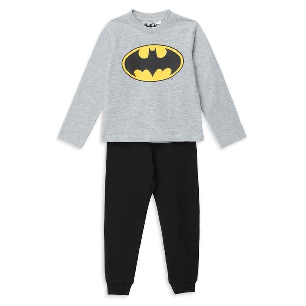 PYJAMA DC COMICS Pyjama Batman Gris/Noir Garçon