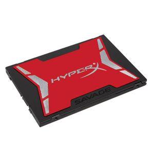 """DISQUE DUR SSD HyperX SSD SAVAGE - 960Go - 2,5"""" - 7mm - SATA 3 -"""