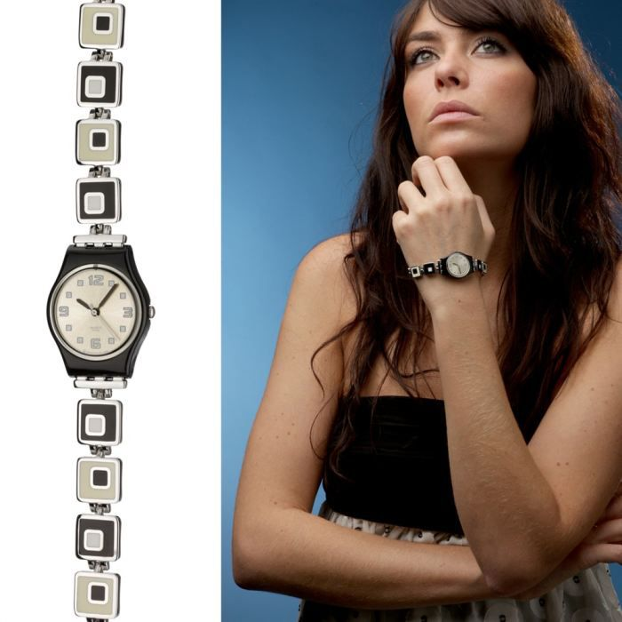 swatch chessboard montre femme achat vente montre cdiscount. Black Bedroom Furniture Sets. Home Design Ideas