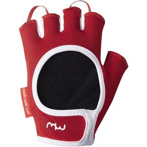 MITAINES DE FITNESS Gants de musculation Positive - Rouge