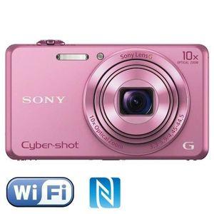 APPAREIL PHOTO COMPACT SONY DSC-WX220 Rose - CMOS 18 MP Zoom 10x Appareil