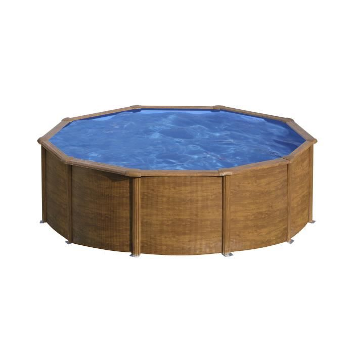 piscine ronde en bois pas cher. Black Bedroom Furniture Sets. Home Design Ideas