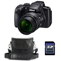NIKON Bridge Coolpix B700 NOIR + Etui + Carte SD 4 Go
