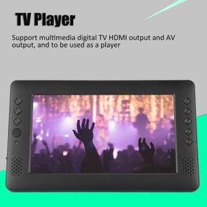 Téléviseur LCD 9 Pouces 16: 9 DVB-T-T2 HD Télévision Numérique Su