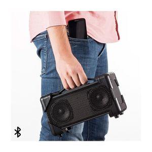 ENCEINTE NOMADE Enceinte Sans fil Portative Bluetooth Boombox Rech
