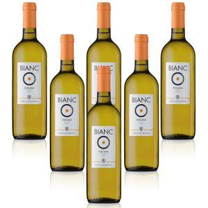 VIN BLANC Vin blanc italien Vino Bianco di Toscana IGT Bianc