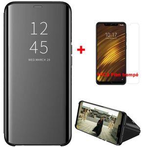 HOUSSE - ÉTUI Coque Smart Flip pour Samsung Galaxy A50 + [1Pack]