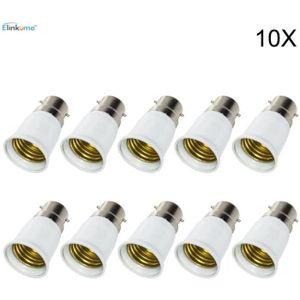 AMPOULE - LED 10 Pack B22-E27 Socket Converter LED Douille de la