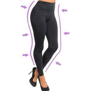 PANTALON DE SUDATION LEGGINGS MINCEUR ANTI-CELLULITE SCULPTANT TAILLE L