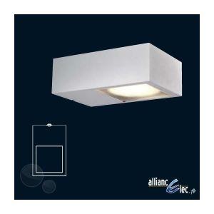 AMPOULE - LED Nexis Applique Murale 1 x 9w IP44 Blanc Luminai...