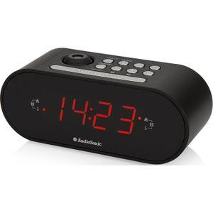 Radio réveil AUDIOSONIC CL-1496 Radio Réveil Projecteur - Régla