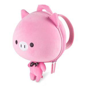 PACK VOYAGE CKB Ltd® Cochon rose Sac À Dos Pour Enfant Pour La