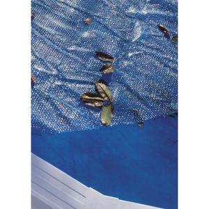 BÂCHE - COUVERTURE  GRE Bâche pour piscine ovale 610x375 anti U.V.A