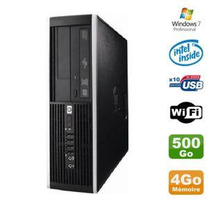 UNITÉ CENTRALE  PC HP Elite 6000 Pro SFF E5400 2.7Ghz 4Go Disque 5