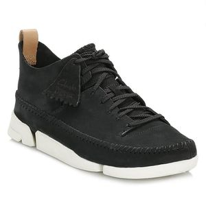 BASKET Clarks Homme Noir Trigenic Flex Baskets