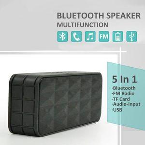 ENCEINTE NOMADE 5 en 1 Portable Bluetooth 3.0 Surround haut-parleu