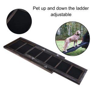 ETAGÈRE MURALE Échelle escaliers chien étapes se peloter rampe