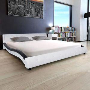STRUCTURE DE LIT Cadre de lit adulte contemporainStructure de lit