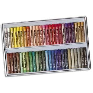 PASTELS - CRAIE D'ART Boîte de 50 pastels Pentel
