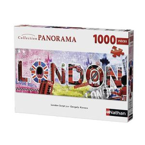 PUZZLE Puzzle London Script 1000 pcs