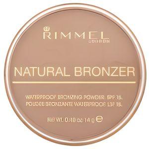FOND DE TEINT - BASE RIMMEL Natural Bronzer Poudre bronzante - Light 02