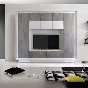meubles aspect beton achat vente pas cher. Black Bedroom Furniture Sets. Home Design Ideas